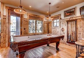 Park City Vacation Rental - Billiards Room