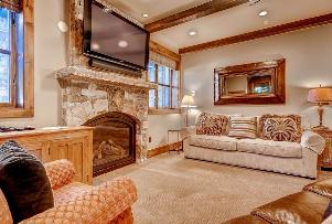 Park City Vacation Rental - Lower Level Family Room