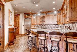 Park City Vacation Rental - Lower Level Kitchen