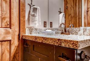 Park City Vacation Rental - Powder Room