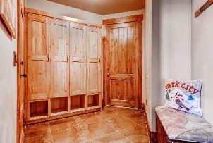 Park City Vacation Rental - Mud Room