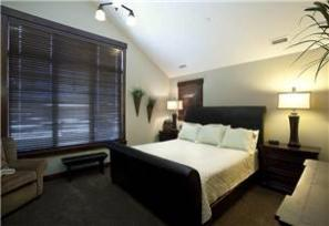 Park City Vacation Rental - Master Bedroom with King Bed