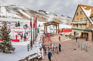 Park City Vacation Rental - Park City Mountain Resort village area